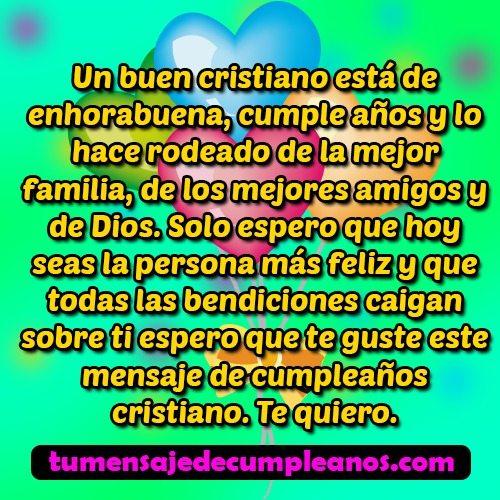 mensaje de cumpleaños cristiano 2