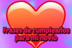 Feliz cumpleaños Novio