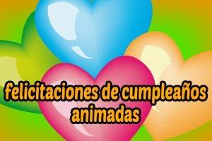 Frases de cumpleaños Animadas