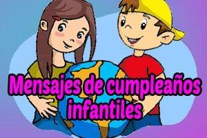 Frases de cumpleaños infantiles