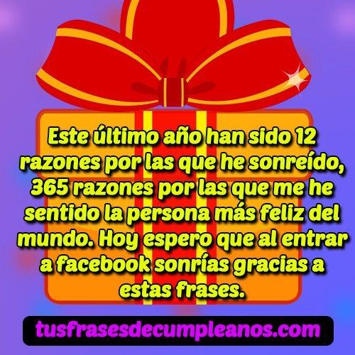 Frases Y Mensajes De Feliz Cumpleanos Para Facebook Felicitaciones