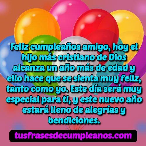feliz cumpleaños para un amigo