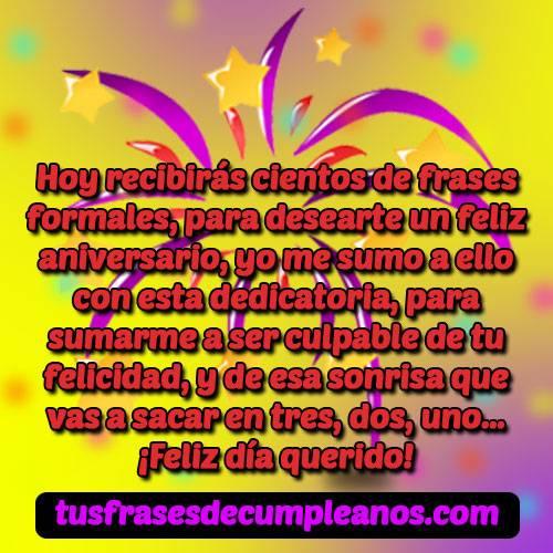 Frases Y Mensajes De Feliz Cumpleaños Formaleslos Mejores
