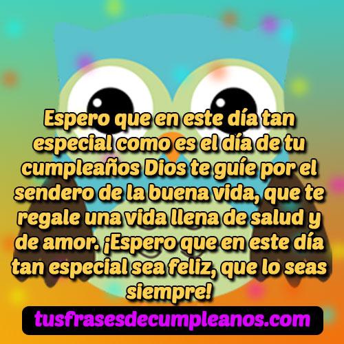 mensajes de cumpleaños cristianos evangélicos bonitos