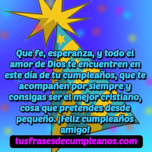 Saludos de cumpleaños para cristianos