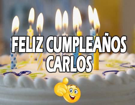 Feliz Cumpleaños Carlos Frases