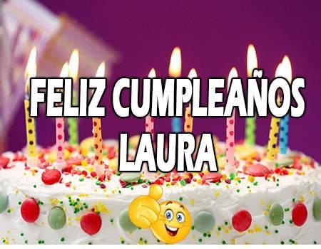 Feliz Cumpleaños Laura Frases