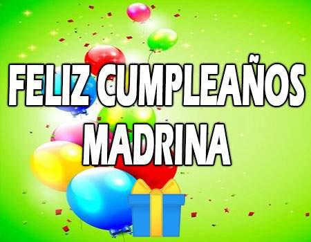 Feliz Cumpleaños Madrina Frases