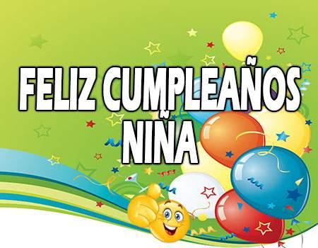 Feliz Cumpleaños Niña Frases