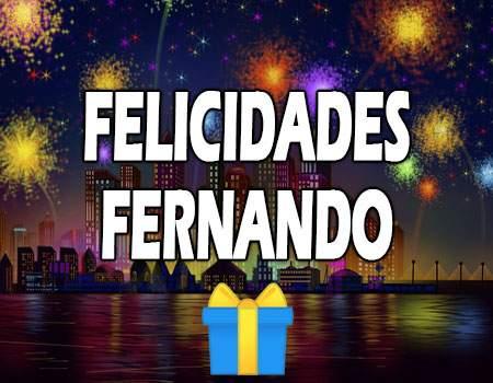 Felicidades Fernando Mensajes