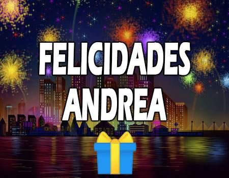 Felicidades Andrea Mensajes