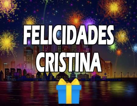 Felicidades Cristina Mensajes