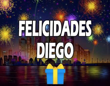 Felicidades Diego Mensajes