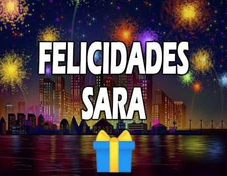 Felicidades Sara Mensajes