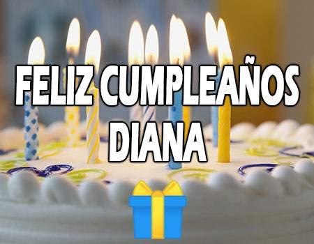 Feliz Cumpleaños Diana