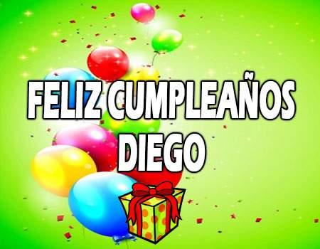 Feliz Cumpleaños Diego