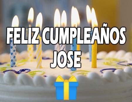 Feliz Cumpleaños Jose