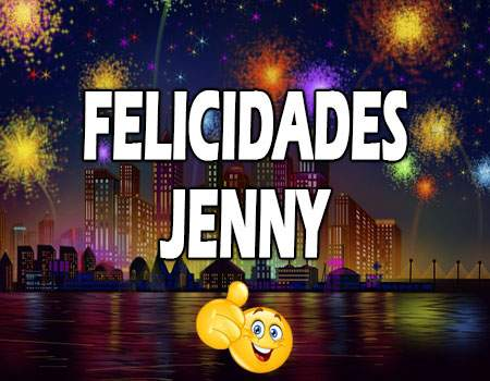 Felicidades Jenny Mensajes