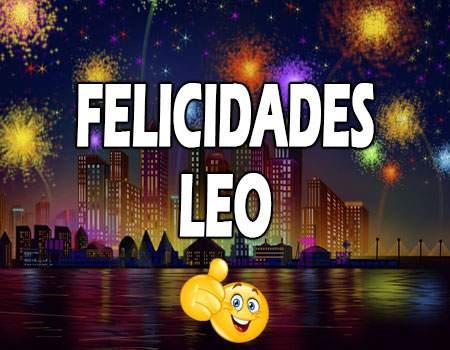 Felicidades Leo Mensajes