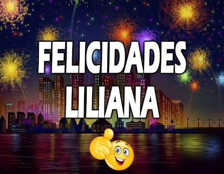 Felicidades Liliana Mensajes