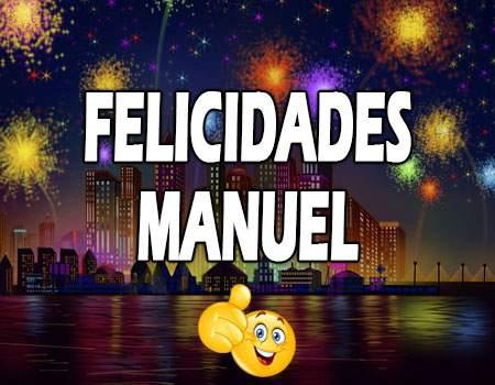 Felicidades Manuel Mensajes