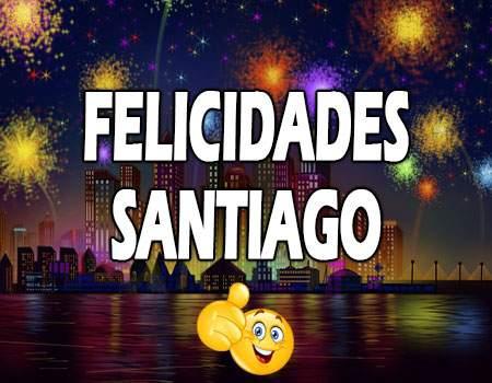 Felicidades Santiago Mensajes