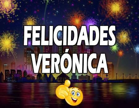 Felicidades Veronica Mensajes