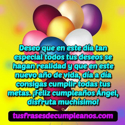 feliz cumpleanos angel