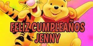 Frases y Mensajes de Feliz Cumpleaños Jenny