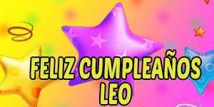 Frases y Mensajes de Feliz Cumpleaños Leo