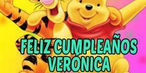 Frases y Mensajes de Feliz Cumpleaños Verónica