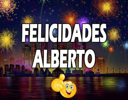 Felicidades Alberto Mensajes