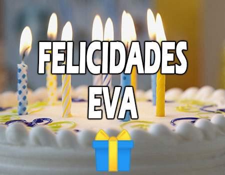 Felicidades Eva Mensajes
