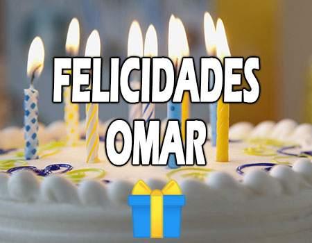 Felicidades Omar Mensajes