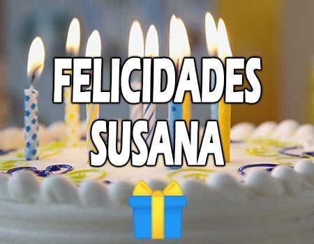 Felicidades Susana Mensajes