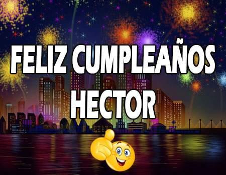 Feliz Cumpleaños Héctor