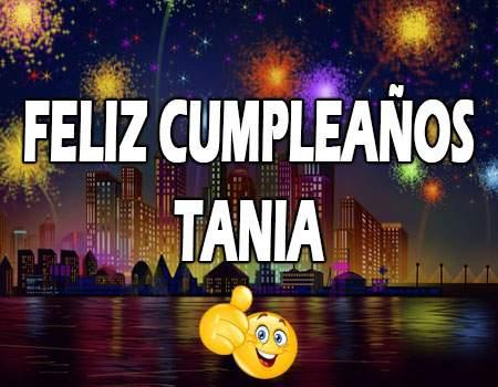 Feliz Cumpleaños Tania