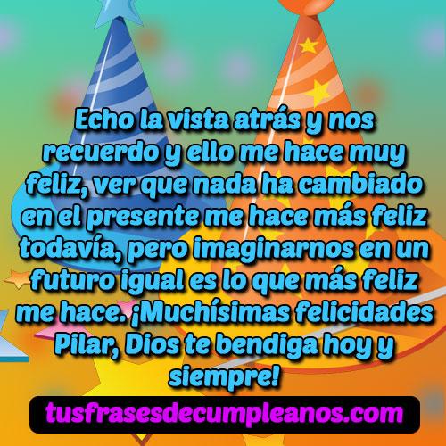 Felicidades Pilar