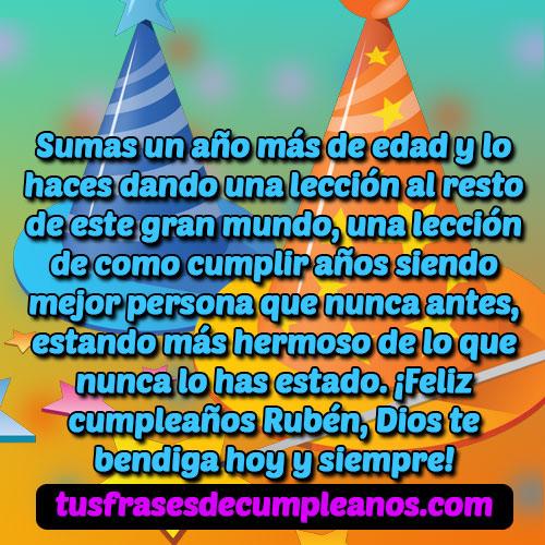 Felicidades Rubén