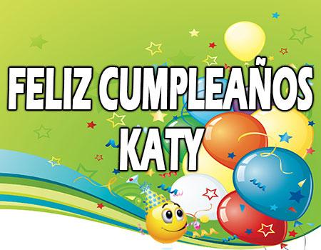 Feliz Cumpleaños Katy