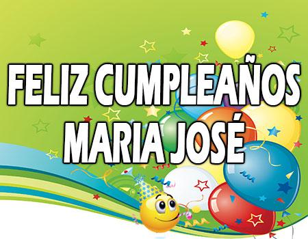 Feliz Cumpleaños Maria_José