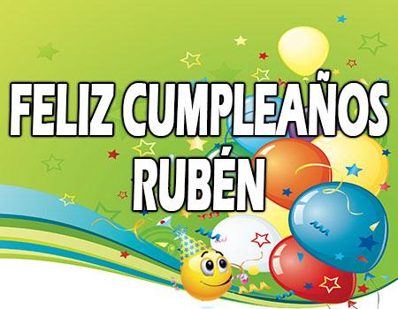 Feliz Cumpleaños Rubén