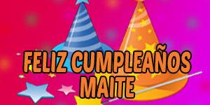 Frases y Mensajes de Feliz Cumpleaños Maite