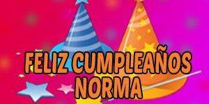 Frases y Mensajes de Feliz Cumpleaños Norma