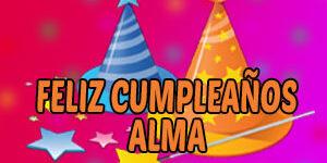 Frases y Mensajes de Feliz Cumpleaños Alma