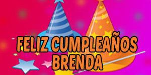 Frases y Mensajes de Feliz Cumpleaños Brenda