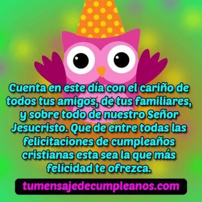 Felicitaciones de cumpleaños cristianas evangelicas