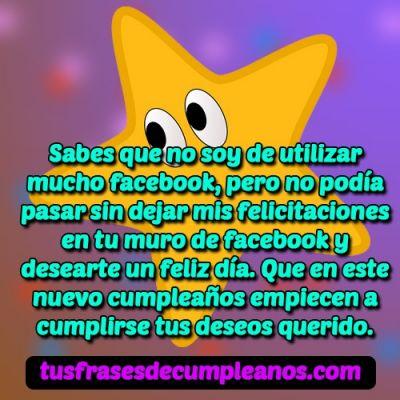 Felicitaciones de cumpleanos para facebook 2