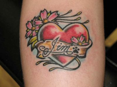 tatuajes con corazones